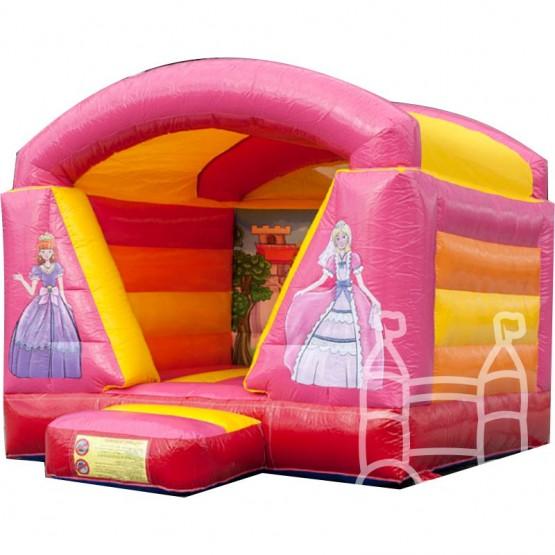 prinsessen springkussen huren met dak
